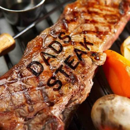 Braai Branding Iron Tool with 55 Changeable Letters