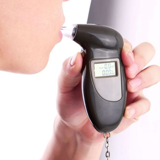 Digital Alcohol Breathalysers with Mouth Pieces