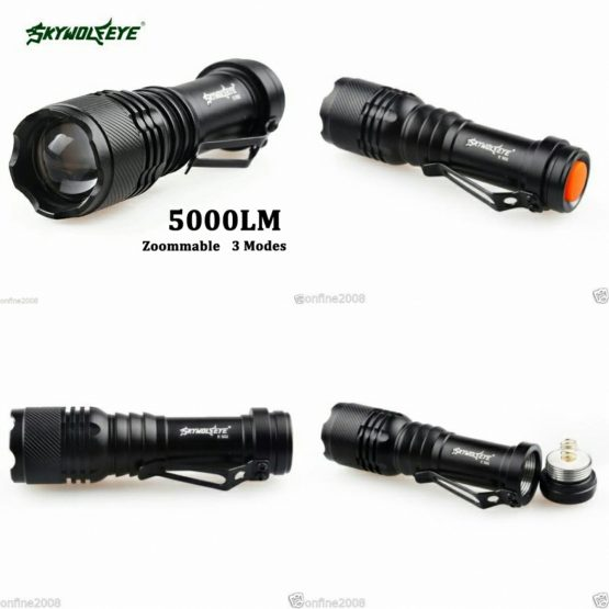 Sky Wolfe Eye 5000 Lumens 3-Mode CREE Torches