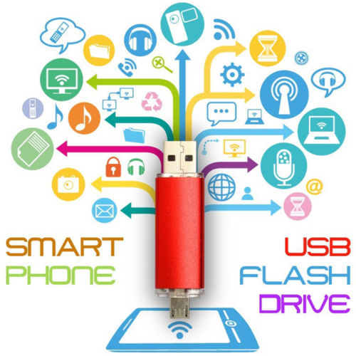 Smart Phone and PC 2-in-1 Micro USB Flash Drives