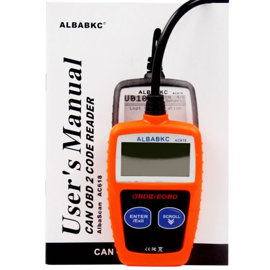 AC618 (OBD2) Car Diagnostic Scanner Code Readers