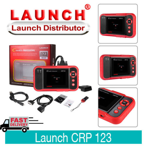 LAUNCH X431 CRP123 ENG/AT/ABS/SRS OBD2 Scanner Diagnostic Tool