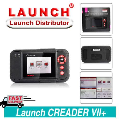 Launch X431 Creader VII+ 7 Plus OBDII Scanner Code Reader Auto Diagnostic Tool